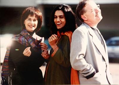 נורית עם אתי אנקרי ואלון אוליארצ'יק