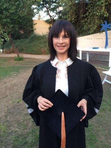 נורית הירש דוקטור לשם כבוד 2016 מטעם אוניברסיטת בר-אילן