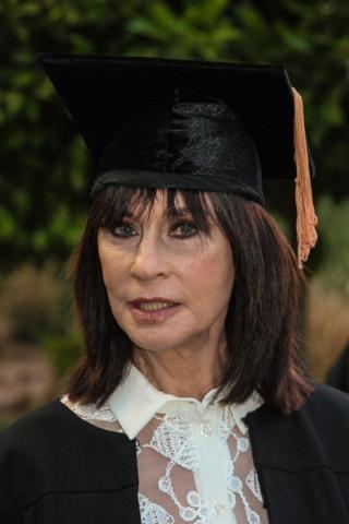 נורית הירש דוקטור לשם כבוד מטעם אוניברסיטת בר-אילן