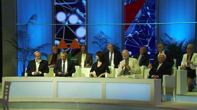 נורית הירש בטקס פרס ישראל 2016