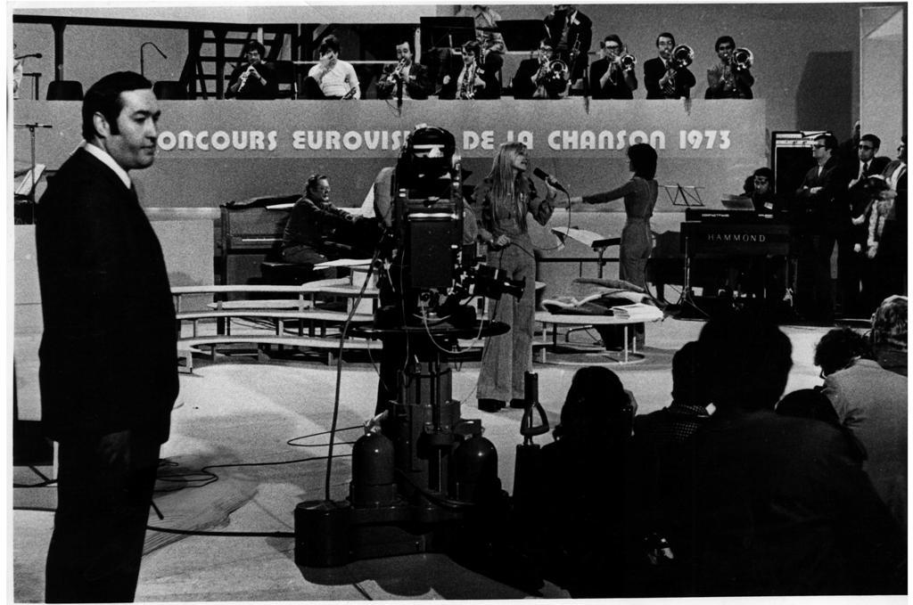 נורית הירש ואילנית אירוויזיון 1973 בלוקסמבורג